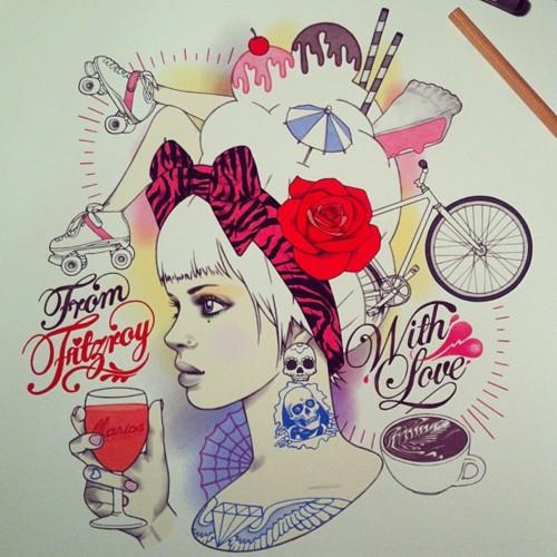 Beautiful Illustrations By Rik Lee 2 Rik Lee — Beautiful Illustrations