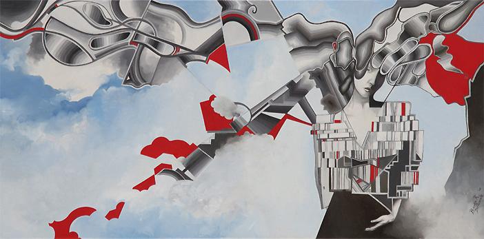 BiancaRaffaela painting 03 Fashion Painting by Bianca Raffaela