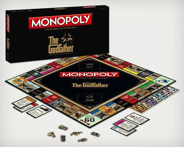 Godfather Monopoly1 The Godfather Monopoly Edition