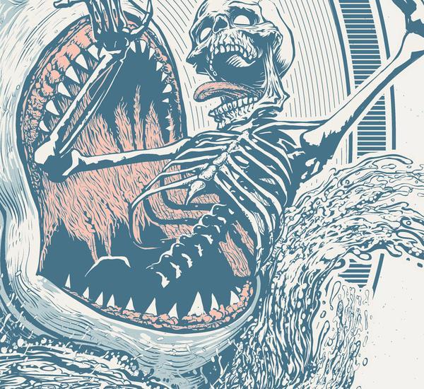 Jeremy Packer 2600 550 Zombie Illustrations by Jeremy Packer