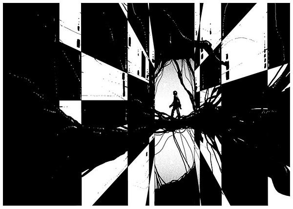 KE3 Monochrome illustrations by Kilian Eng
