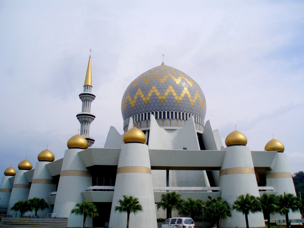 Sabah State Mosque in Kota Kinabalu Malaysia 99 Beautiful Mosques All Over The World