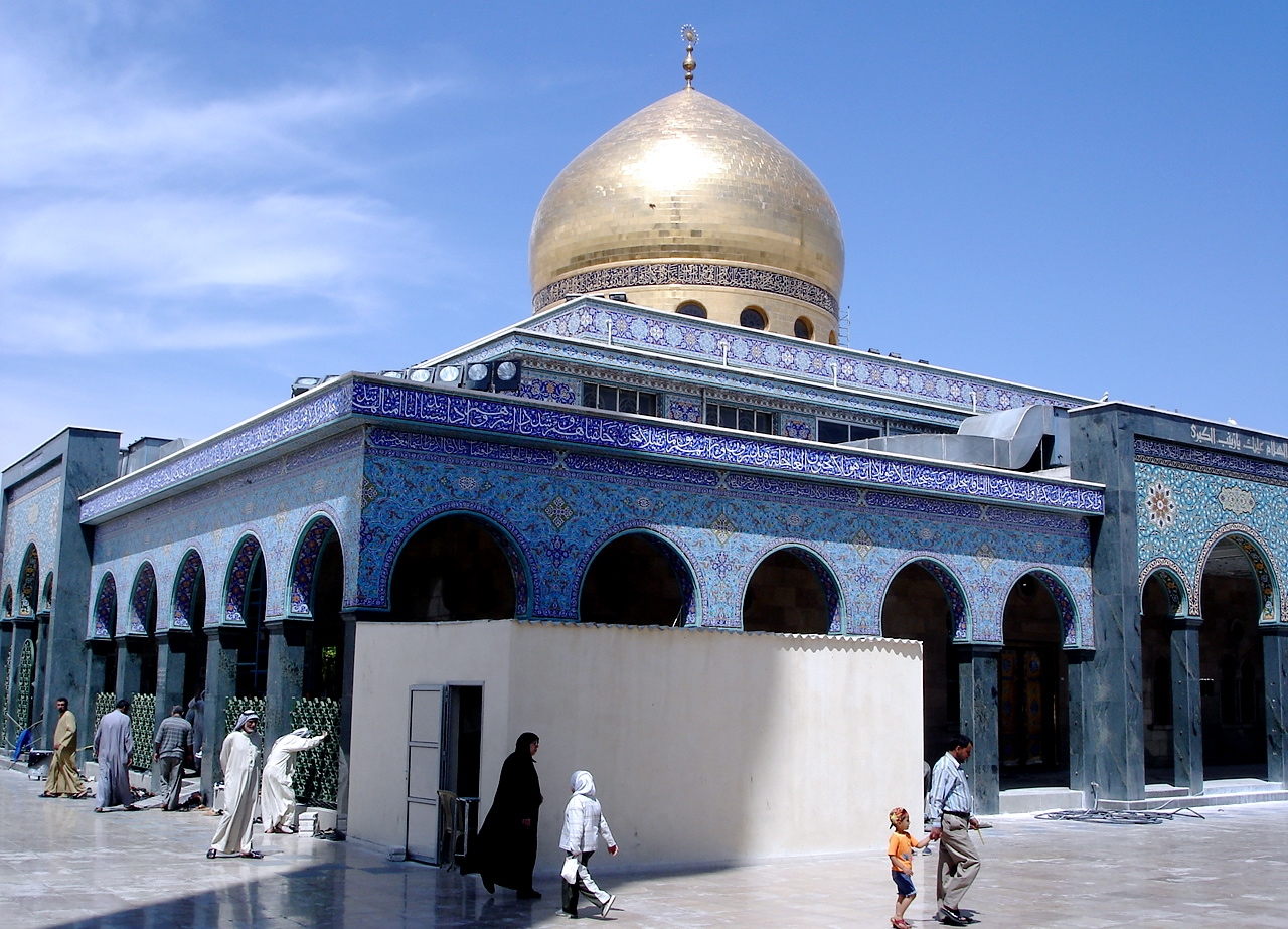 Sayyeda Zeinab Mosque in Damascus Syria 99 Beautiful Mosques All Over The World