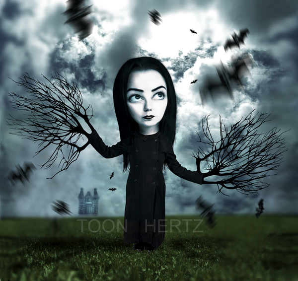 Scarecrow Creative Digital Dark Illustrations by ToonHertz