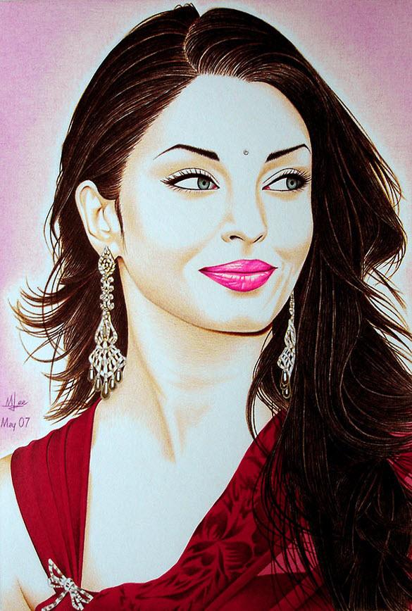 Sketches_Paintings-of-Aishwarya_Rai