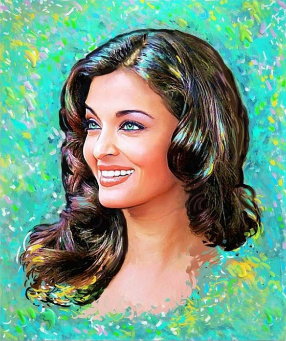 Sketches_Paintings-of-Aishwarya_Rai_14