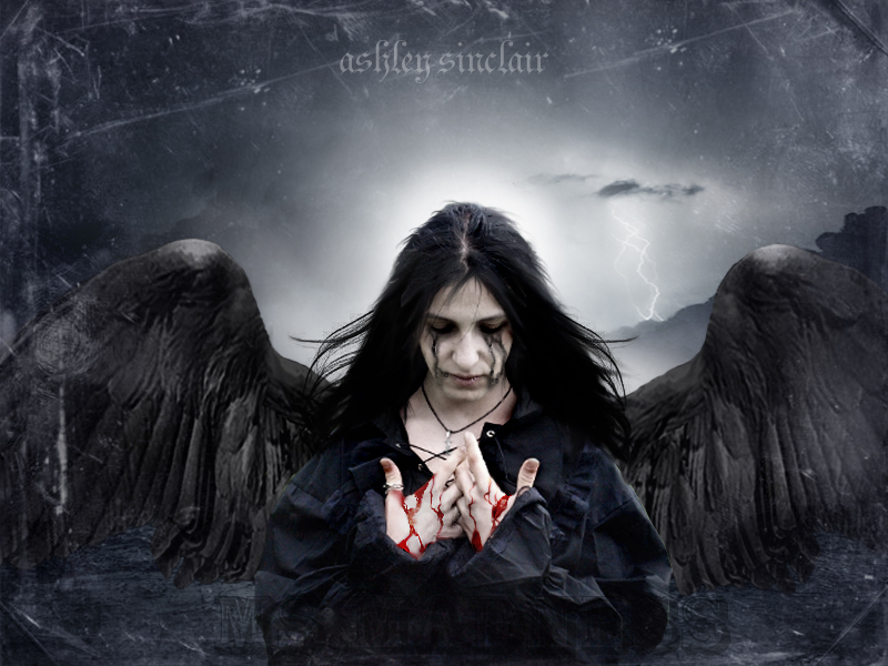 Thy Raven Wings II Engelsblut 15 Fantastic Examples Of Dark Photo Manipulation