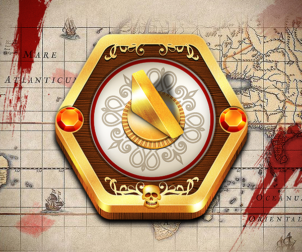 ancient style compass icon set dial Epic Icon Sets