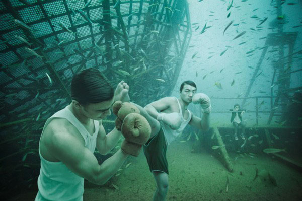 An Art Gallery Under Water   Scuba Gear Required