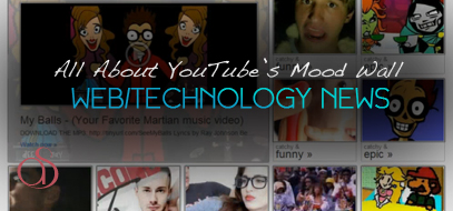 best web technology news youtube moodwall feature beta 2012 407x190 All About YouTube's New 'Moodwall' Video Viewing Feature