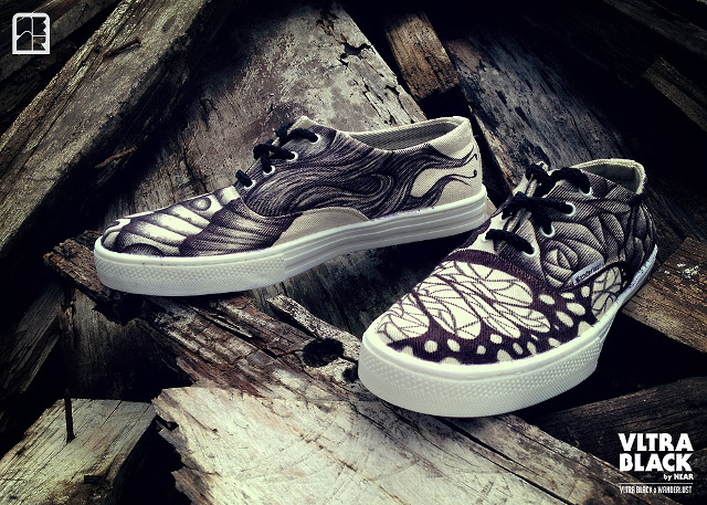 VltraBlack, custom shoes by nearsyx