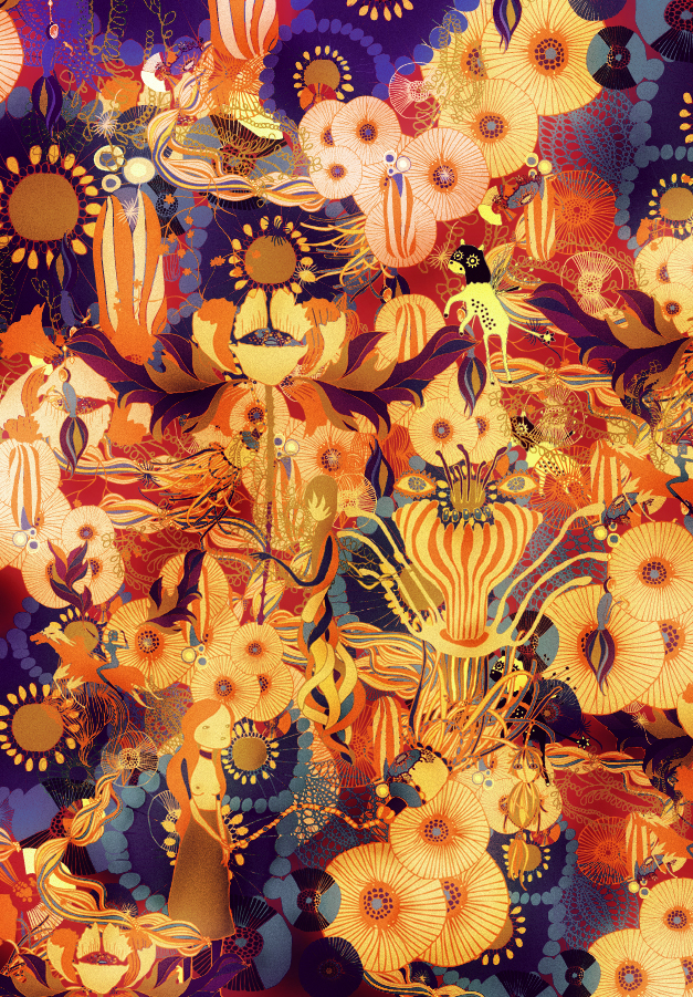colorew Cristian Grossi   New textural illustration: The Faboulous World of Sfigati