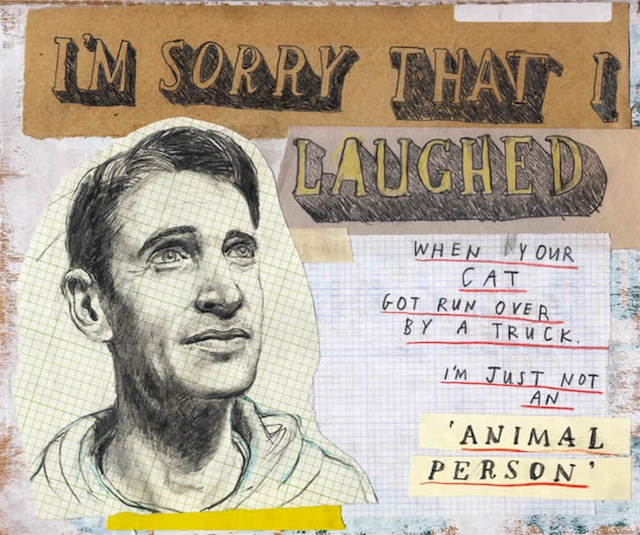 david fullearton collages 02 Collages: Great Apology Drawings by David Fullarton