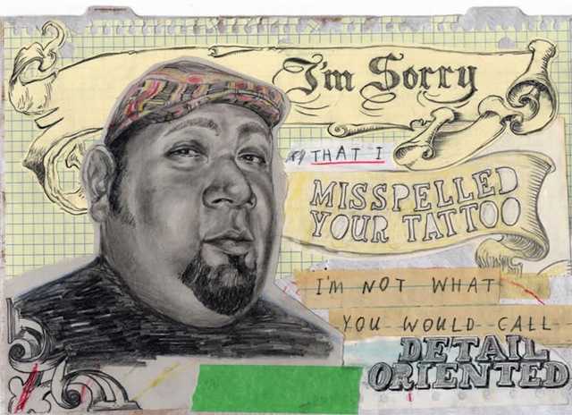 david fullearton collages 03 Collages: Great Apology Drawings by David Fullarton