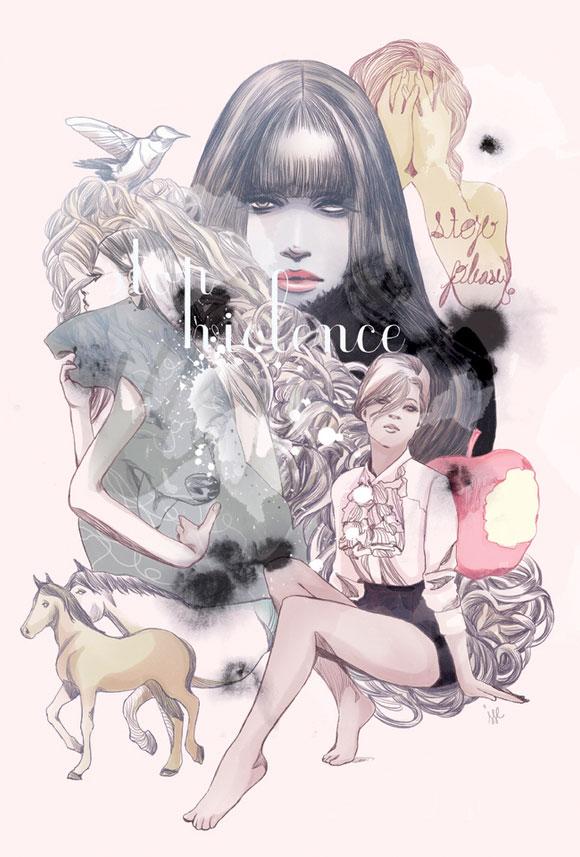 i1a43 Fashion Illustrations by Ratinan Thaijareorn