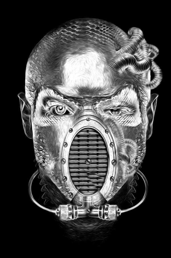 i1a7 Mask Artworks by Obery Nicolas