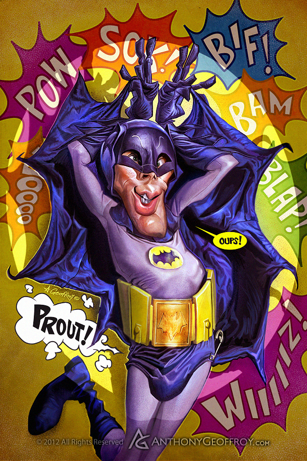 i1a92 The Batman Evolution by Anthony Geoffroy