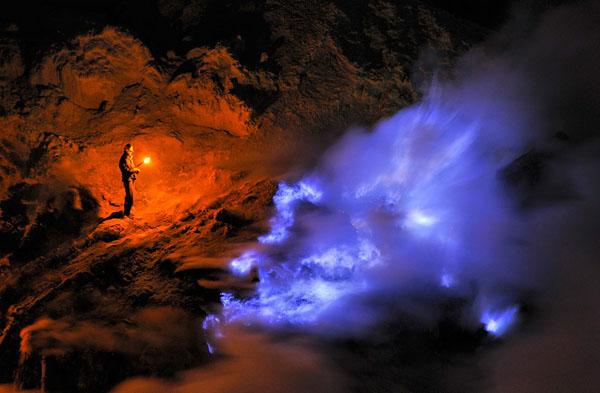 Amazing Photographs of Sulfur Mine