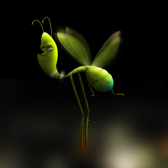 kostol 2 Insects by Max Kostenko