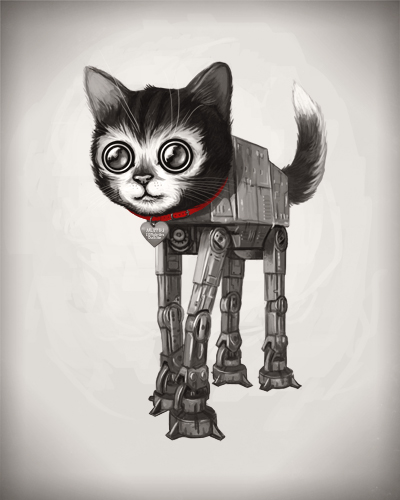 michel 1 Cool Illustrations by Mike Mitchell