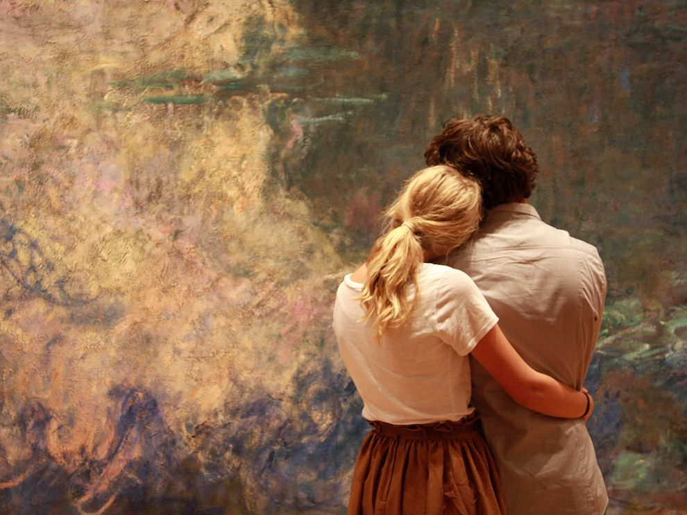 moma monet couple 57276 990x742 Photo of the Day : Museum of Modern Art, New York