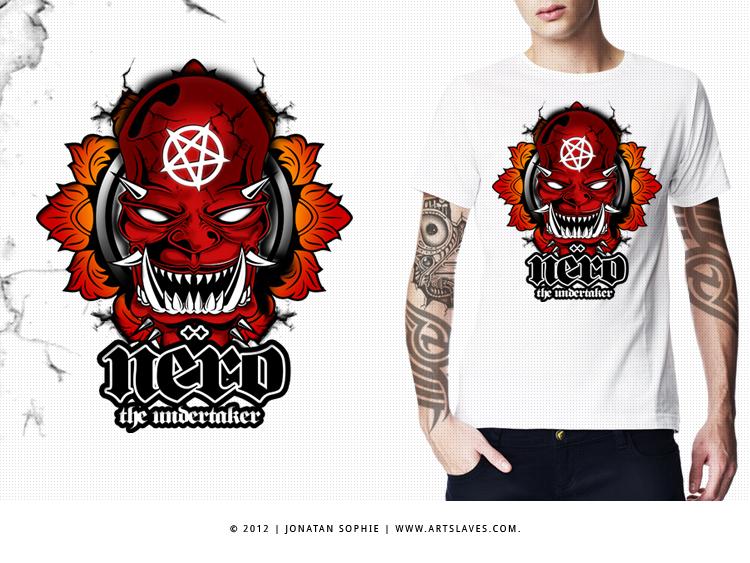 nero artslaves com Nero T shirt Illustration