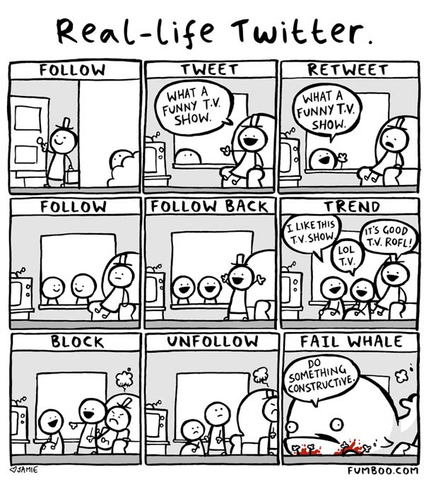 real life twitter Real life Twitter