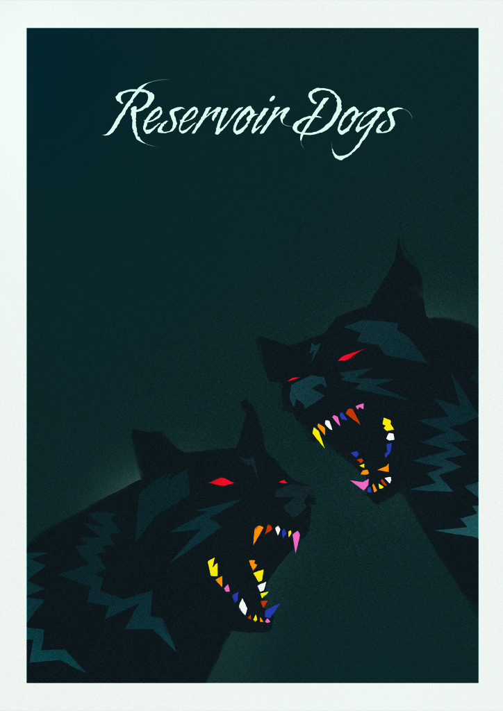 reservoir dogs VARIANT Reservoir Dogs 20th Anniversary — by Rocco Malatesta