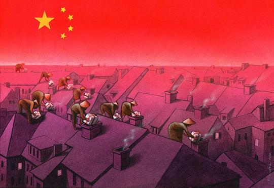 satir 2 Satirical Illustrations by Pawel Kuczynski