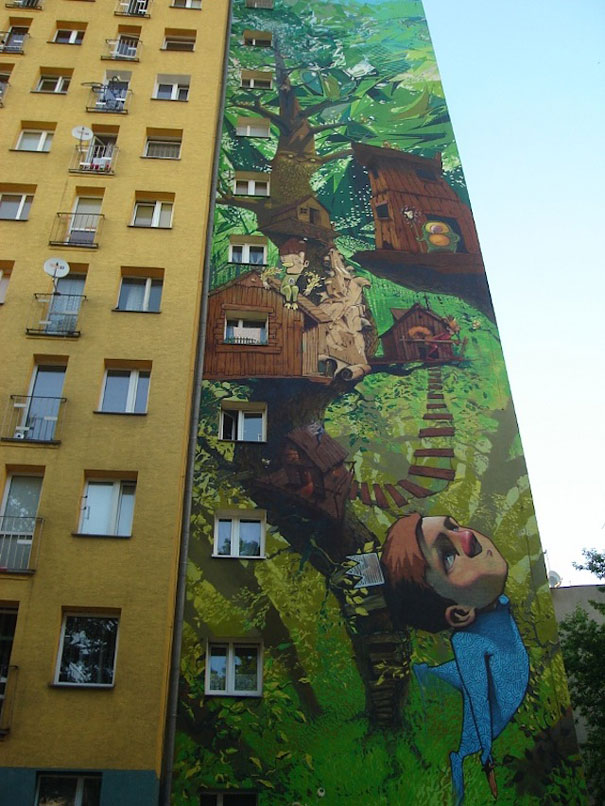 street art murals 2 Amazing Large Scale Street Art Murals From Around The World