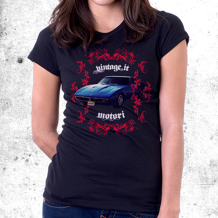 vintage motori maserati ghibli Maserati Ghibli t shirt