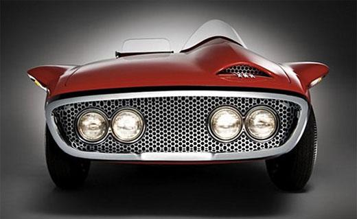 virgil 01 1960 Plymouth XNR concept car