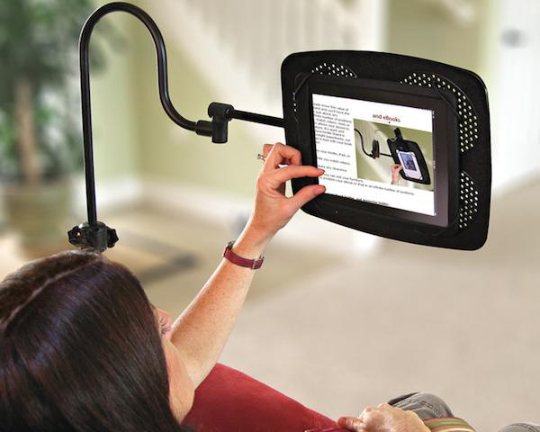 1132 Levo Deluxe eBook and iPad Holder Floor Stand
