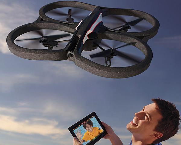 1191 AR.Drone 2.0 Quadricopter with on board Wi Fi system