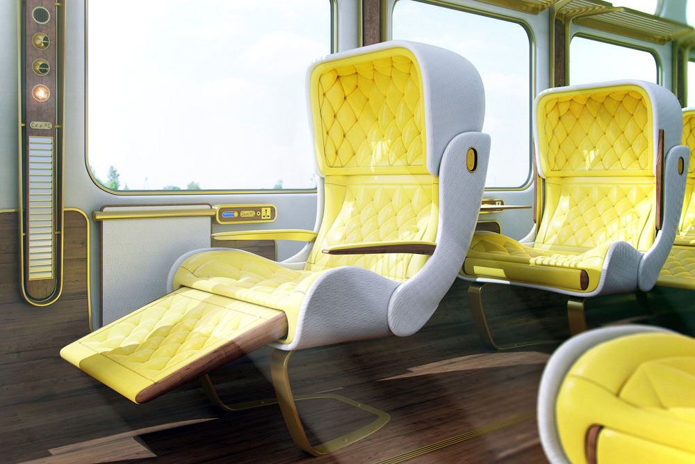 160 Eurostar Paris   London Interior Design