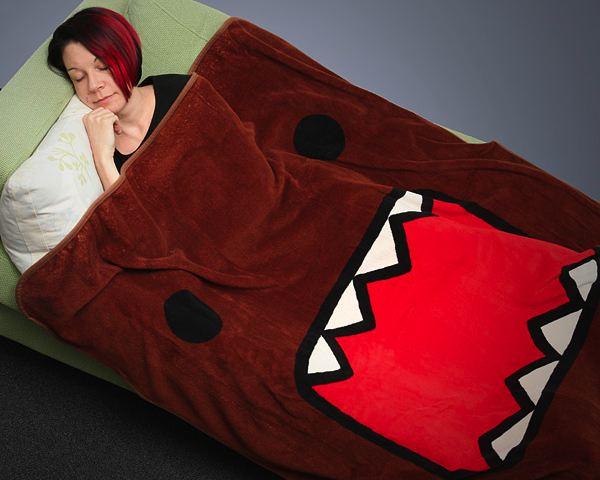 Domo Face Micro Rashel Fleece Blanket