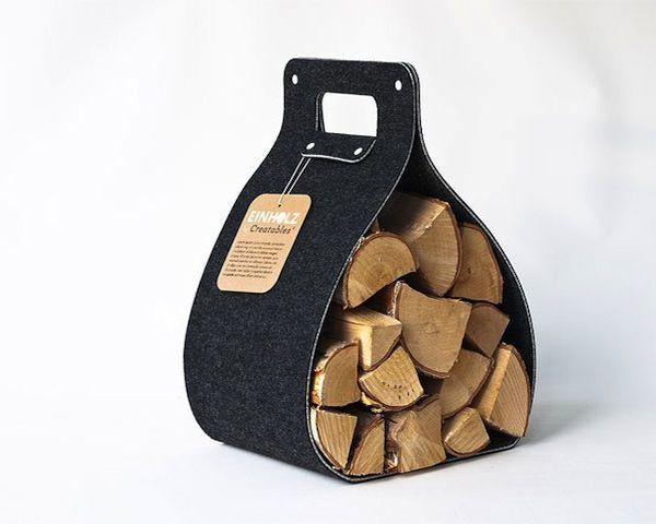 Einholz Firewood Basket by Creatables