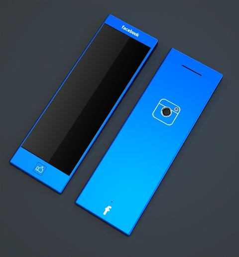 Blue Experience 1 02 6 Best Facebook Phone Concept Designs