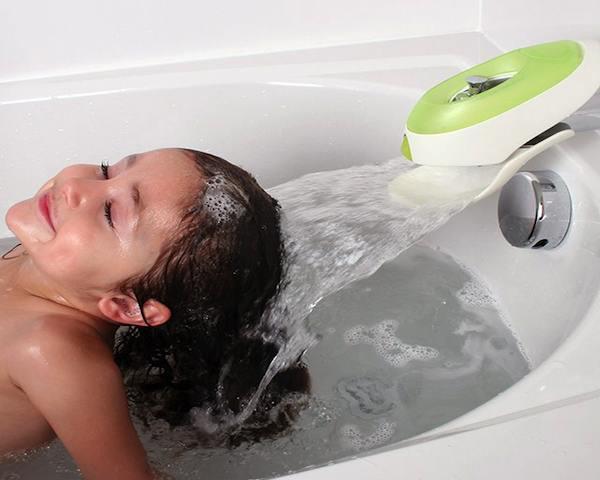 Boon Flo Water Deflector & Bubble Bath Dispenser