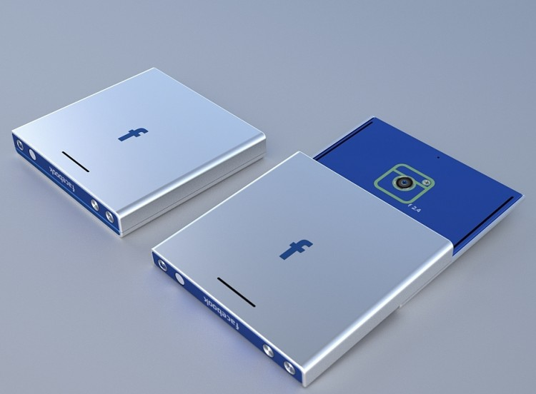 Facebook Phone Concept by Tolga Tuncer 01 750x552 6 Best Facebook Phone Concept Designs