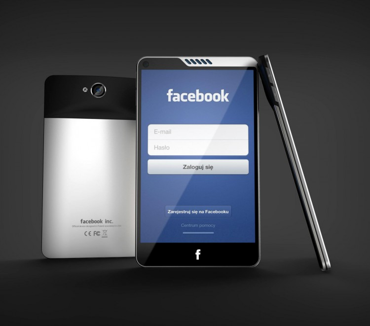Facebook Phone Concept via Nowhereelse 02 750x661 6 Best Facebook Phone Concept Designs