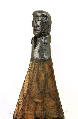 Ghetti Elvis Awesome Pencil Sculptures By Dalton M. Ghetti