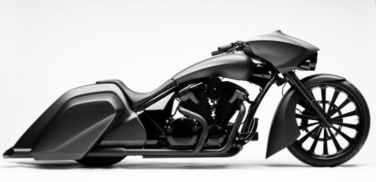 Honda Stateline Slammer Bagger Concept 750x363 25 Creative And Amazing Motorcycles Designs