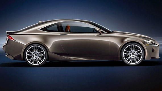 Lexus LF CC Hybrid 1 Lexus LF CC Hybrid Concept Car