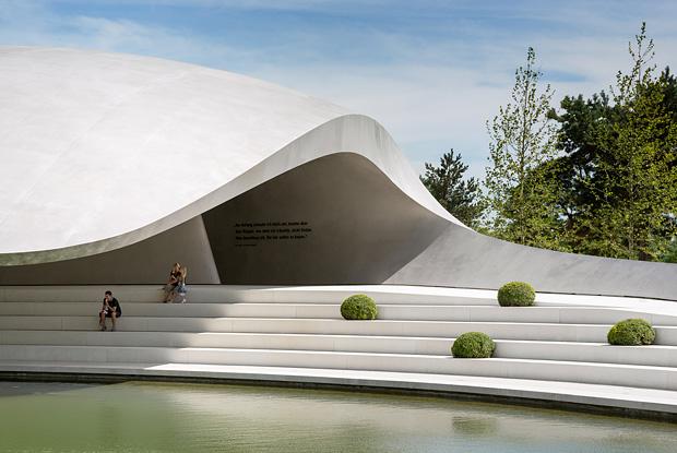 Porsche Pavillon Autostadt Wolfsburg 05 New Porsche Pavilion at Autostadt, Germany