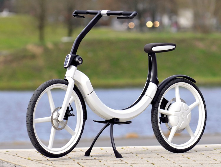 Volkswagen electric bike 4 750x568 Volkswagen folding electric bik.e