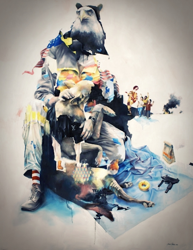 Animal Instinct   Illustrations by Joram Roukes