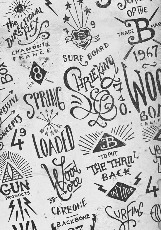 bmd 1a Hand lettering by BMD Design
