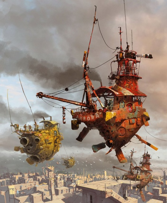 cruzine 11 Awesome Pseudo 3d Illustrations by Ian McQue