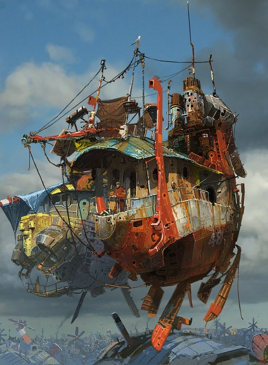 cruzine 1b1 Awesome Pseudo 3d Illustrations by Ian McQue